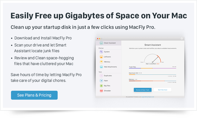 Macfly Pro Mac Cleaning Software